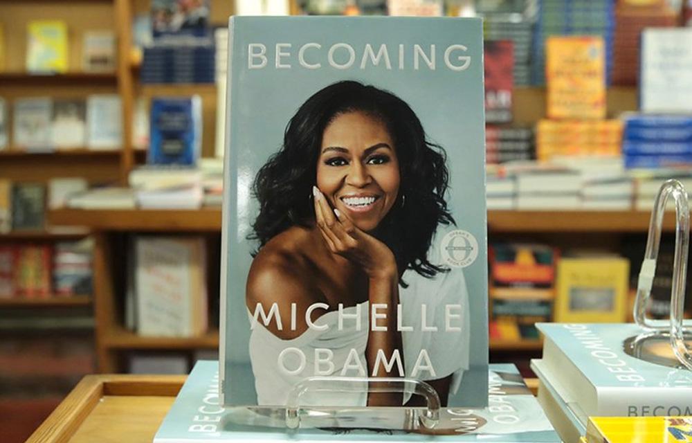 Best Seller Becoming de Michelle Obama 60mais