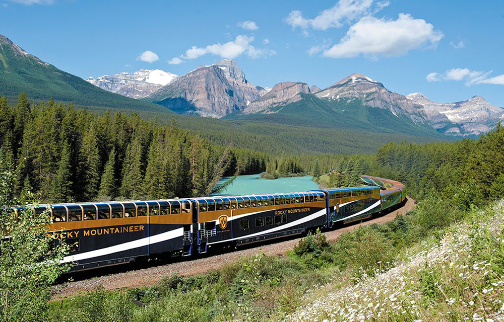 Rocky Mountaineer Train 60mais