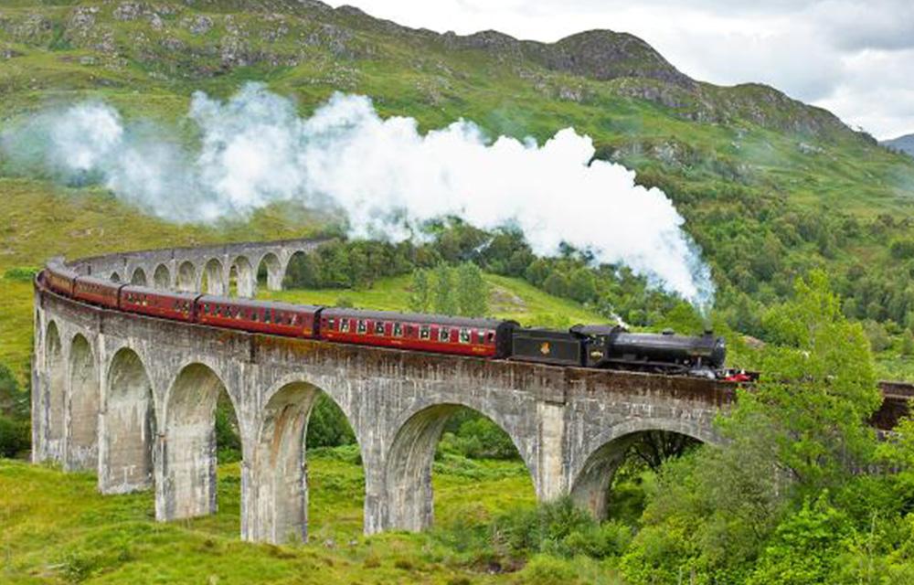 Trem na Escócia 60mais