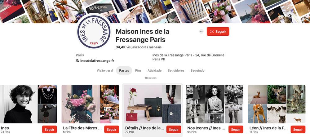 Pinterest Ines de la Fressange Paris 60mais