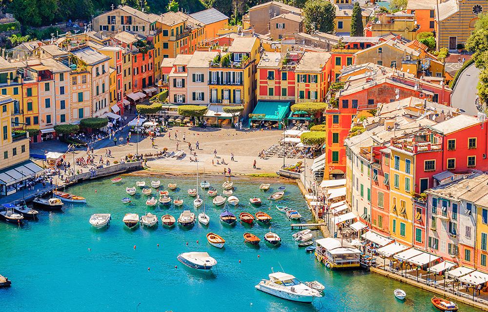 Destinos não óbvios Portofino 60mais