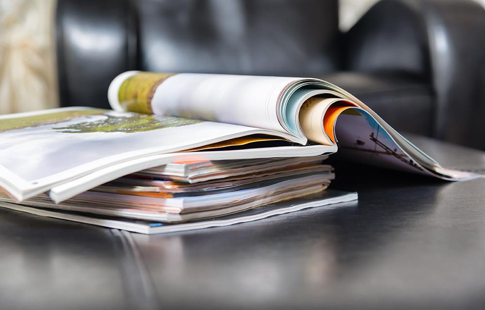 Como prolongar a vida de uma revista e evitar desperdício 60 mais