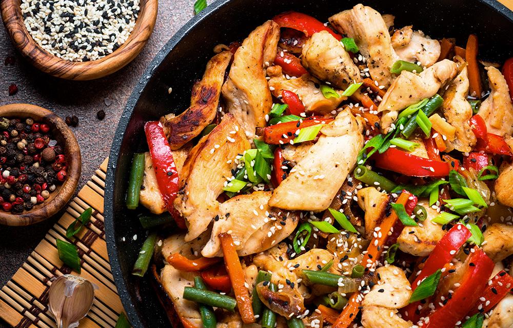 Benefícios da comida oriental 60 mais