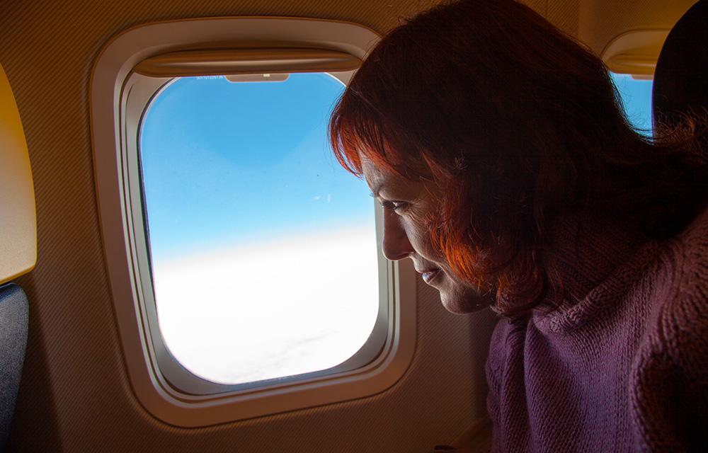 Viagem de avião com mais conforto 60 mais