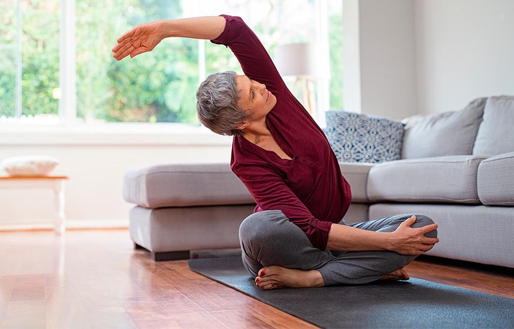 Exercícios físicos e saúde mental - 60 mais