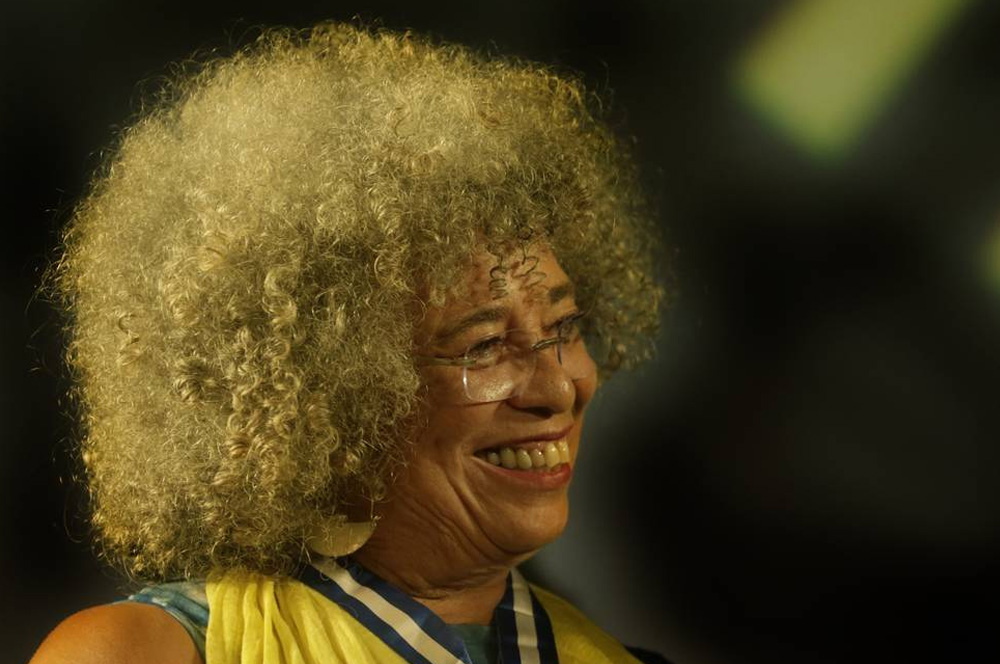personalidades negras Angela Davis