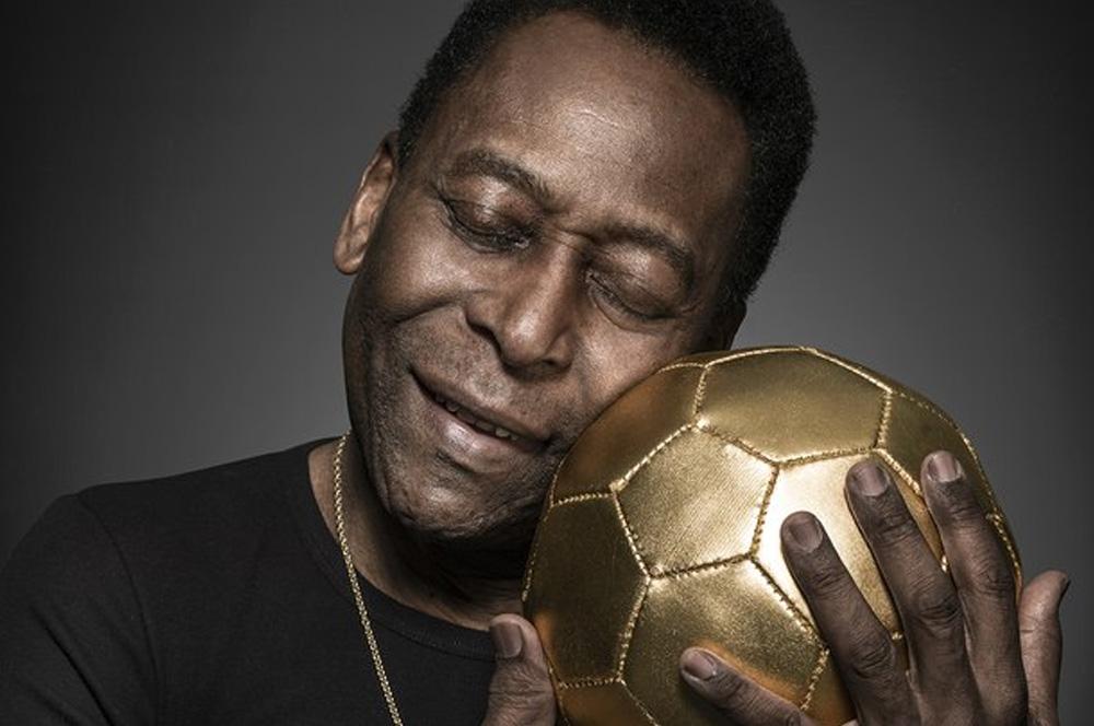 personalidades negras Pelé