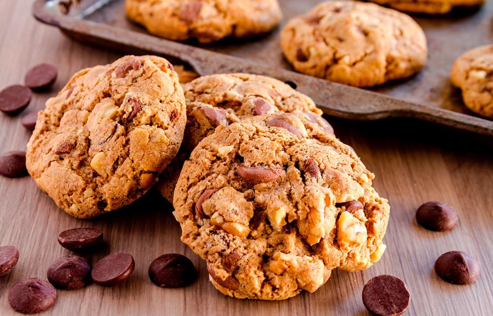 Receita de cookie vegano - 60 mais