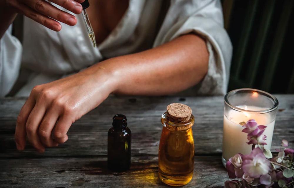 Massagem ou compressa com óleos essenciais - 60 mais