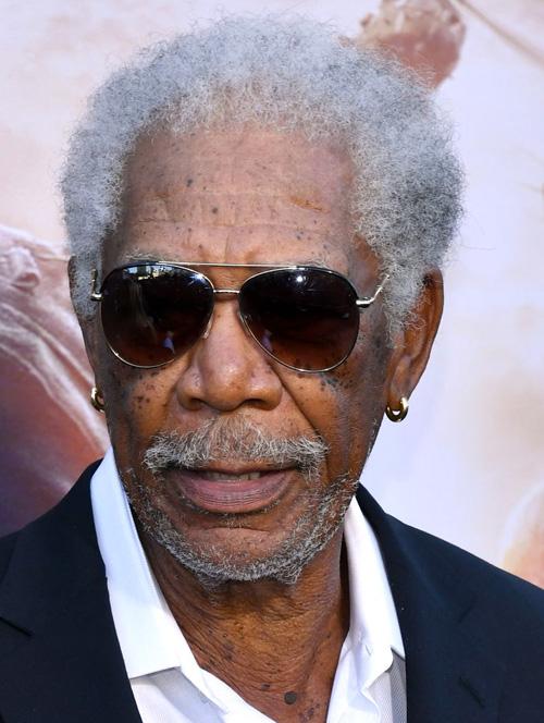 Morgan Freeman fios grisalhos - 60 mais