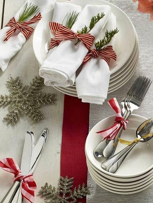 Decoração de Natal - mesa posta - 60 mais