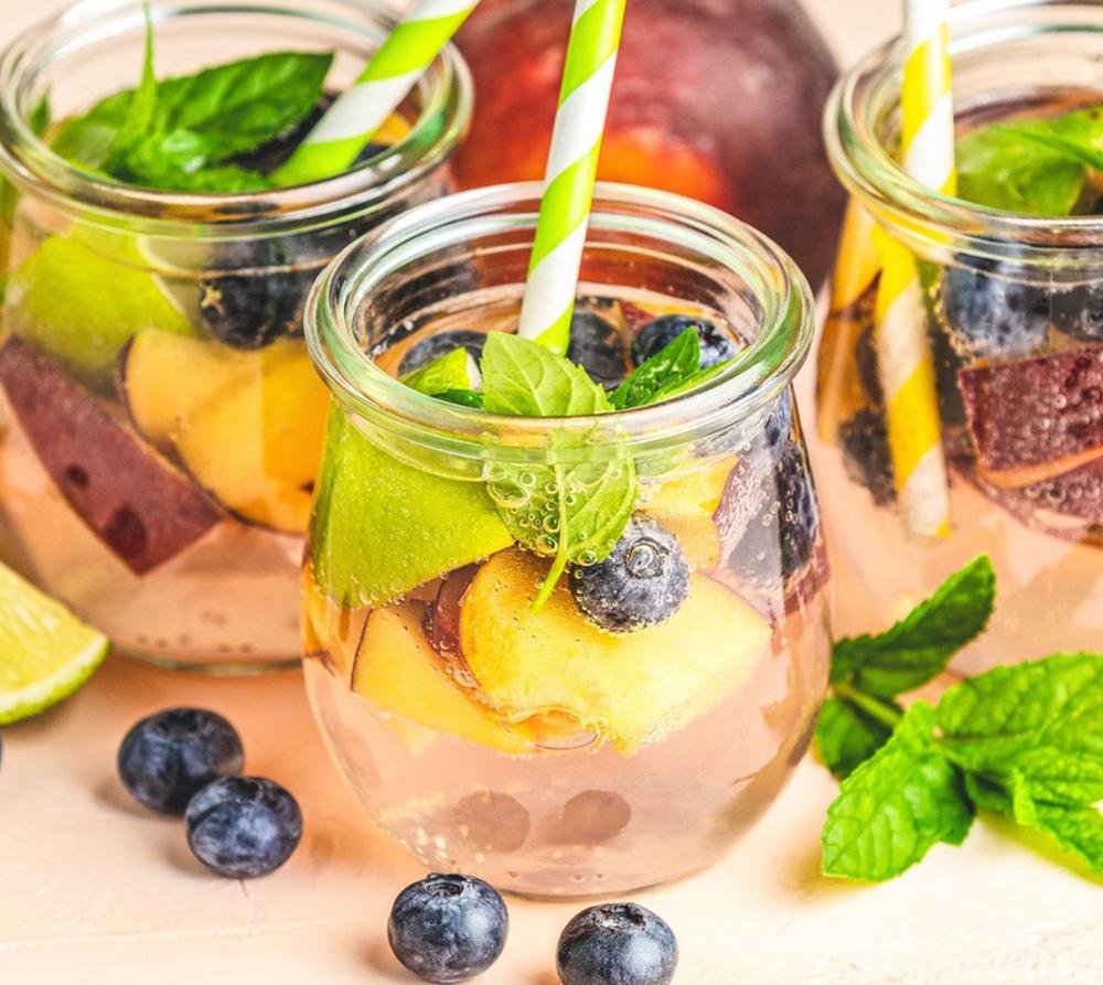 Águas aromatizadas para o verão - receita antioxidante e antistress - 60 mais