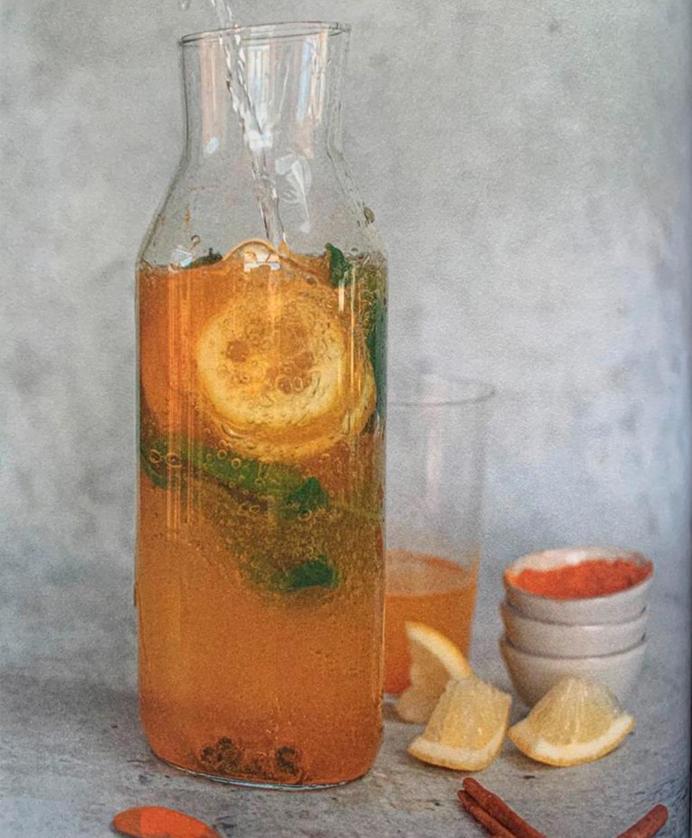Águas aromatizadas para o verão - receita vitamix - 60 mais