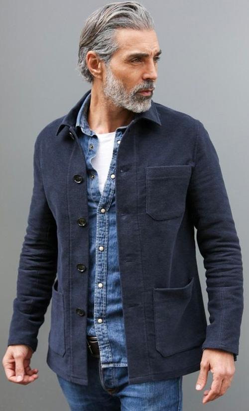 Moda masculina madura - 60+