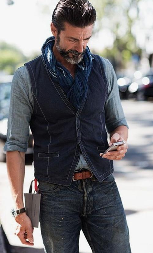 Moda masculina para homens maduros - 60+