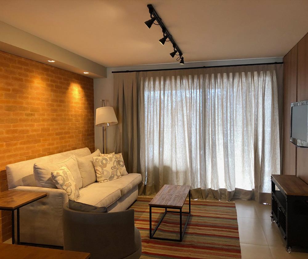 Decoração com sofá cinza - 60+